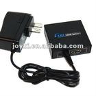 Link Style Mini HDMI Splitter 2Ports 1x2 Powered Splitter, Full 1080P for HDTV, PS3, Xbox, Blu-Ray DVD, DirecTV