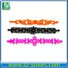 New!!! Silicone Hollow Bracelet for decoration