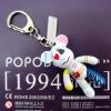 advertising 2 inch PVC bear doll key chains