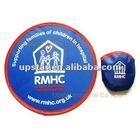 promotional plastic foldable frisbee