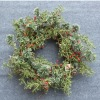 Decorative Artificial Green Tree Foliages,Red Berries Garland