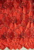 Swiss cotton voile spangle embroidery fabric
