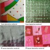 laminated material swatches