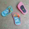 Slipper acrylic fridge magnet