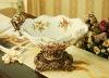 2012 New Design Ceramic Flower Decorative Plate