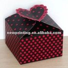 beautifully paper wrapped gift box