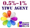 0.5% commission china yiwu agent