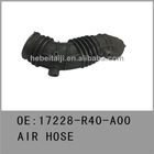 Auto parts air hoses for Honda 2008accord 2.4L 17228-R40-A00