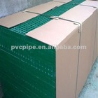 green packed frp grating with the size of 38*38*38
