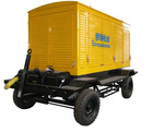 100KW Cummins mobile generator sets