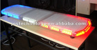 Strobe light bar, 12V 1W/LED, LED warning light bar, color-red/amber/white/blue available