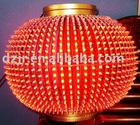 Red LED lantern for holiday