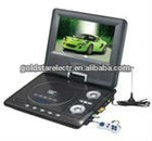 NEWEST!7INCH PDVD PLAYER WITH DVB-T/ISDB-T FUCNTION