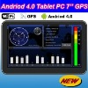 2012 New Generation Cortex-A8 1.2GHz CPU Andriod 4.0 OS WIFI 7'' GPS Navigator