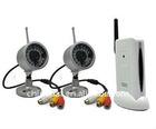 2.4GHz Wireless Cameras System (2 cameras+1 receiver)