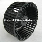 heater fan wheel 135x55 blower wheel impeller,small fan wheel for PTC heater