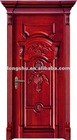 100% complete natural original wood door with high quality