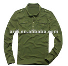 2012 2013 fashion long sleeve polo shirt police uniform
