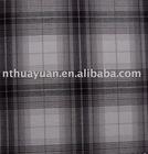 high quality check pattern cotton yarn dyed fabric