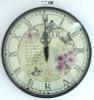 Quartz glass wall clock,decorative wall clock