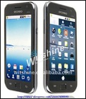 Dual SIM Android GPS Mobile Phone A9000 Big screen mobile Phones with TV Wifi Bluetooth