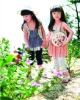 High quality girls capris 100%cotton of branded child wear