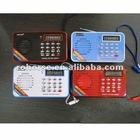 Portable Mini Speaker Support FM Radio TF Card U Disk & Recording