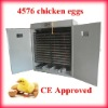 Full Automatic incubators for hatching eggs Holding 4576 eggs