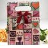 Paper christmas gift bag