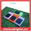 Universal solar cell phone charger