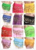 2012 newest proffessional belly dance tribal scarf and waist chains with 12 different colors