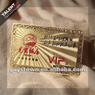 Pantone printed VIP gold card for Restaurant