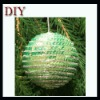 2012 christmas tree decoration sequin ball
