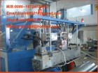 stretch film machine/transparent film making machine/mini plastic extruder/pvc film making machine