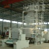 ZQ-3FM1600 PES heat shrinkage packaging film blowing machine