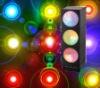 Disco flashing light