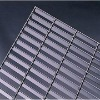 Round cross bar concrete plain top mild steel grating