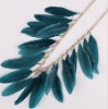 UK Accessorize bule feather necklace CTN1091