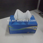 100% Vigin pulp paper tissue box
