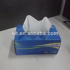 100% Vigin pulp paper tissue box