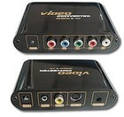 Component YUV Video to Composite RCA Video & S-Video Converter