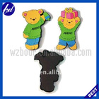 Cute Bear soft pvc fridge magnet