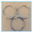 Fashion metal binder ring standard
