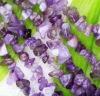 purple fluorite amethyst beads chips