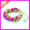 fashion Europe and America iron net Bracelet LYSB-0020 in stock