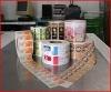 2012 hot custom die cutting adhesive label