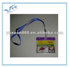 clear plastic id card holder