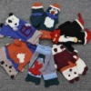 2012 fashion lovely children knitting animal gloves