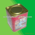 Exquisite tin can Gift Tin Can with lid/ with Full Color Print