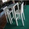 Haoyun furniture HY2815 outdoor white wicker bar set